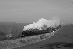 Mono steam (Jacobite52) Tags: 48151 35018 8f bil britishindialine southern mainlinesteam lms railway train steam