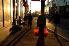 Red Packs (Andrii Mur) Tags: tallinn estonia streetphotography leicax1
