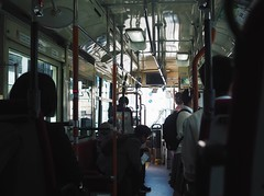 Kyoto bus(Kyoto Japan) (Wan.L) Tags: オリンパス view people dark m43 penf olympus japan kyoto bus 街景 人 公車 車 京都 日本