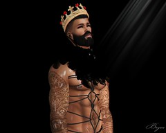 Searching The Light (Bryan Trend) Tags: head catwa daniel body belleza jake hair stealthic birth skin makeup magnificent beard bento nexus collar accesory noche nipples signature gianni geralt unrigged piercings piercing rope cordeaux pose gay male men model blogger new blog post sl secondlife second life