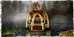 ~*SR*~ & ~*TD*~  Bayounimba Elven Gazebo (Mondi Beaumont) Tags: fantasy faire 19 2019 11th ff rfl relayforlife relay for life fight cancer sweet revolutions ~sweet revolutions~ ~sr~ telperion designs ~telperion designs~ ~td~ deco decorations mesh bayounimba garden gardening sim building crafting plants animals swamp elf elven voodoo cult cultural sl secondlife second rp roleplay ~sr~~td~ even gazebo walkway pier water ethereal kingdom harbour landscape