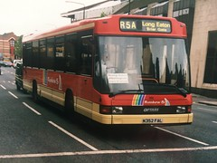 K352 FAL (nevetsyam1404) Tags: broadmarshbusstation rainbow5 bartonbuses barton dafsb220 daf sb220 optare optaredelta delta b48f 352 k352fal