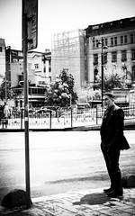 Waiting (Erman Peremeci) Tags: carlzeiss blackandwhite sonyalpha streetphotography beyazıt zeisstouit32mm emount bw istanbul oldman a6500