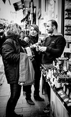 Bargaining (Erman Peremeci) Tags: beyazıt blackandwhite sonyalpha streetphotography emount bw istanbul a6500 crowd 24mm sonnar carlzeiss24mmf18sonnar carlzeiss
