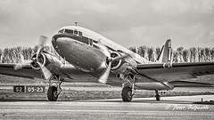 PH-PBA   Douglas DC-3 Dakota -  DDA Classic Airlines (Peter Beljaards) Tags: phpba ddaclassicairlines dda nikon70300mmf4556 nikond5500 prinsesamalia dc3 dakota douglas douglasdc3 lelystad ehle ley msn19434 ddayveteran dday 1944 prattwhitney prattwhitneyr1830