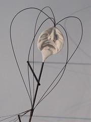 Chicago, Museum of Contemporary Art (MCA), Gradations of Slow Release Exhibit, Sculpture (Artist: David Enrico) (Mary Warren 12.7+ Million Views) Tags: chicago museumofcontemporaryart mca art sculpture davidenrico gradationsofslowrelease metal face
