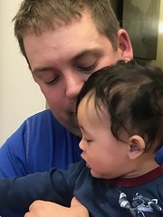 Father and son moment (Robin Penrose) Tags: 201904 project365 365the2019edition 3652019 day116365 26apr19 postedadaylate people humans father son bonding grandson boy 100xthe2019edition 100x2019 image25100
