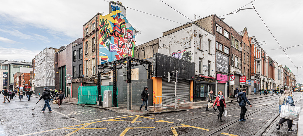 HERE THERE WILL BE A LARGE HOTEL [LIFFEY STREET - ABBEY STREET]-152109