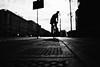 Looking back (ewitsoe) Tags: spring monochrome bnw blackandwhite mono street urban bike ride man silhouette canon erikwitsoe ewitsoe travel