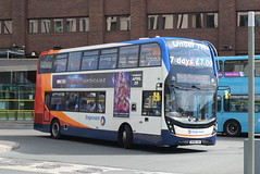 SMSL 11108 @ Liverpool ONE bus station (ianjpoole) Tags: stagecoach merseyside south lancs alexander dennis enviro 400mmc sk61lwa 11108 working route 82 liverpool one bus station parkway railway
