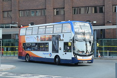 SMSL 11106 @ Liverpool ONE bus station (ianjpoole) Tags: stagecoach merseyside south lancs alexander dennis enviro 400mmc sk68lvy 11106 working route 82 liverpool one bus station parkway railway