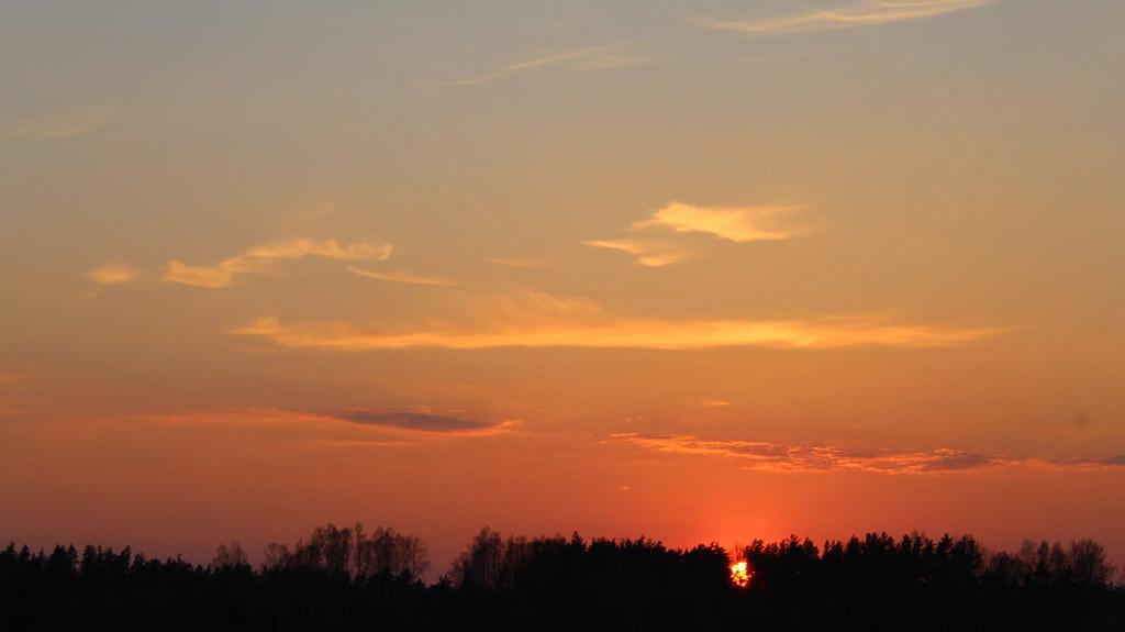 фото: Sunset Smarde 22.04.2019