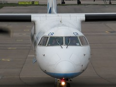 G-JECR Aberdeen 5 April 2019 (ACW367) Tags: gjecr dhc8q402 dash8 flybe aberdeen dehavillandcanada