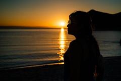 Contraluz 02 (gyogzz) Tags: backlighting contraluz girl perfil profile retrato sunset sun beach playa la paz balandra chic model beautiful sexy