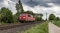 Railpool 151 164-1 storming through Meerbusch (Nicky Boogaard) Tags: krefeld germany deutschebahn deutschland railroadphotography dmrailroad dmrailway railway railfan railfanning meerbusch railpool 1511641 br151