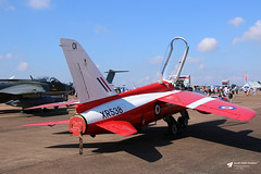 XR538 / G-MOUR Hawker Siddeley Gnat T.1, Heritage Aircraft Trust, RAF Fairford, Gloucestershire (Kev Slade Too) Tags: xr538 gmour hawkersiddeley gnat heritageaircrafttrust xs102 egva raffairford riat2018 gloucestershire