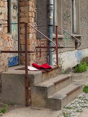20110724-041 (sulamith.sallmann) Tags: berlin berlinmitte carpet cloth deutschland europa fabric geländer mitte stairs steps stoff stufe stufen teppich textil textile treppe sulamithsallmann
