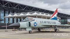 Convair F-102A Delta Dagger USAF 61032 (Peter Beljaards) Tags: j57p25 prattwhitney turbojet onderscheppingsjager interceptor soesterberg convairf102a deltadagger 61032 usaf deltavleugel supersonic deltawing nikon