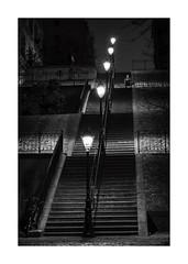 Alone (Nico Geerlings) Tags: ngimages nicogeerlings nicogeerlingsphotography paris france nightphotography montmartre ruedumontcenis streetphotography fujifilmxh1 xf56mm