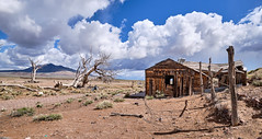 Cedar Pipeline Ranch (joeqc) Tags: nevada nv nye cedarpipelineranch cedar pipeline ranch fuji fujifilm forgotten abandoned house clouds fence xe3 xf1024f4r xf1024mmf4rois