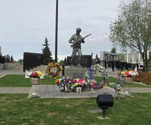 Anchorage Veterans Memorial - Delaney Park, Anchorage