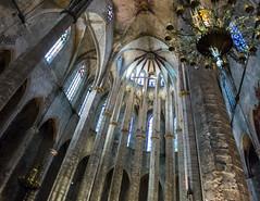 Barcelona (sklachkov) Tags: barcelona catalonia spain architecture gothic windows columns
