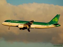 AER LINGUS A320 EI-DEJ (Adrian.Kissane) Tags: 792018 aerlingus a320 eidej 2364 lanzarote sky airbus jet aeroplane landing sun airbus320 aircraft plane aviation approach