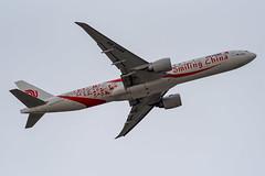 Air China Boeing 777-39L(ER) (zfwaviation) Tags: b2035 b777 777300er air china diversion kdfw dfw dallasfortworth internationalairport airplane plane aircraft boeing