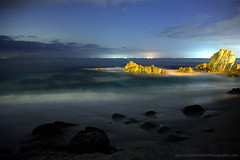 Coast@Night_01 (DonBantumPhotography.com) Tags: landscapes seascapes nightscapes longexposure night timelapse beaches ocean nightsky wwater rocks clouds lights surf donbantumphotographycom donbantumcom californiacoastline stars space northerncaliforniacoast