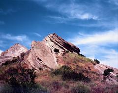 Vasquez Rocks - 2 (skillsnyc) Tags: graflex 4x5 velvia vasquez rocks landscape canyon california crowngraphic