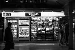 KIOSK at night. (Akira.Tagawa_JPN)) Tags: kiosk shop life tokyo japan store station akira tagawa アキラ タガワ