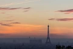 Eiffel Tower (joyhhs) Tags: 2016 december france paris eiffeltower sunset landscape canon on1 photography