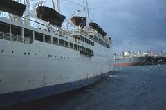 sl61c-01 (OZinOH) Tags: patris piraeus athens greece ship 1961