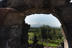 A view of the mountain (cpw123) Tags: indonesia borobudur yogyakarta asia java travel sony a7r2