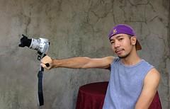 The Canon Blaster- Jimcen Bagsik (bagsikjimcen) Tags: jimcenbagsik canon photography philippines portrait pinoy asian dumagetme dumaguete cool lakers summer fitness canonrebelsl2 canon200d lenshood vlog vlogger vlogging videography sando beard mustache boxing model