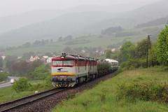 751 084-5 (marekstokosa1) Tags: zssk cargo kolej slovenska zeleznica słowacja bardotka ćkd ckd 751 cecula zamracena berta 7510845 084 0845 sklene handlova train manipulacny vlak mn