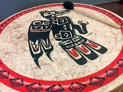 Up Beat ... (Mr. Happy Face - Peace :)) Tags: firstnations albertabound drum drumming ymca shc art2019 healthyliving activity yyc canada mentalhealth