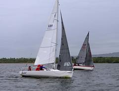 neck and neck (antrimboatclub) Tags: antrimboatclub boat sail sailing ireland sixmilewater loughneagh antrimbay antrim