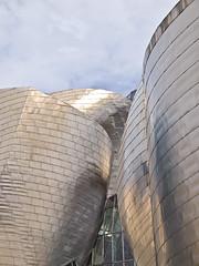 Futuristisch / Futuristic # 21 (schreibtnix on'n off) Tags: reisen travelling europa europe spanien spain bilbao gebäude building guggenheimmuseum frankogehry futuristisch futuristic olympuse5 schreibtnix