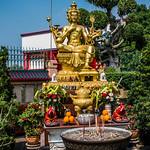 2019 - Thailand - Viharn Sien Anek Kuson Sala - Hindu God Brahma thumbnail