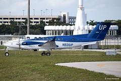 2019-02-15 PBI N831UP (Paul-H100) Tags: 20190215 pbi n831up beechcraft king air b350 wheels up gama aviation