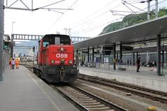 ÖBB 2068 011 (Ray's Photo Collection) Tags: feldkirch oebb bahnhof 2068 011 austria oesterreich autriche öbb österreichischebundesbahnen