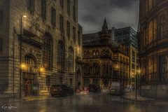 Hotel Gotham, Manchester (Kev Walker ¦ 10 Million Views..Thank You) Tags: architecture building city england manchester panorama panoramic sky town transport water background bridge britain british business canal castlefield center central centre circle cityscape commercial design district downtown dusk europe european great illuminated kingdom landmark light metro metropolitan modern movement night overground piccadilly places public quays railway reflection sign skyline skyscraper speed square station tourism tower trackquayside traffic train transportation travel twilight uk united urban view yellow hotel gotham