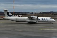 NORRA - Nordic Regional Airlines ATR 72-500 OH-ATN (EK056) Tags: norra nordic regional airlines atr 72500 ohatn helsinki airport