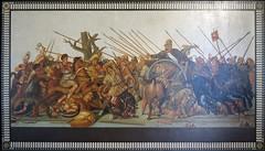 Battle of Issus between Alexander and Darius III (kate223332) Tags: houseofthefaun pompeii mosaic museum archeology napoli italy alexanderthegreat darius