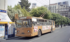 2003-05-25 Athens Trolleybus Nr.5020 (beranekp) Tags: greece griechenland athens trolleybus trolebus trolejbus trolley tradbus obus filobus ziu 5020