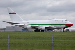 A40-SO // Omani Air Force // B747SP-27 // Stansted (SimonNicholls27) Tags: a40so omani air force airforce 747sp 747 jumbo jet aircraft aviation stansted egss stn sp oman