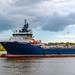 Sayan Princess Leaving Aberdeen Harbour 04/05/2019