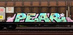 graffiti on freights (wojofoto) Tags: amsterdam nederland netherland holland graffiti streetart cargotrain freighttraingraffiti freighttrain freights fr8 vrachttrein wojofoto wolfgangjosten trein train pear