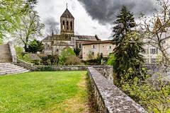 14-L'église de Bourdeilles (Alain COSTE) Tags: 2019 bourdeilles dordogne nikon ocb périgordvert sigma20mmf14 printemps village france
